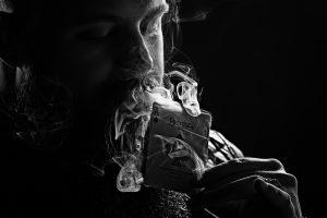 Magic Ace of Spades Smoking